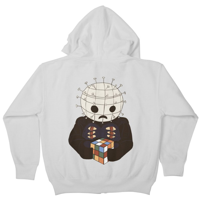 The Real 80's Horror Kids Zip-Up Hoody by lopesco's Artist Shop