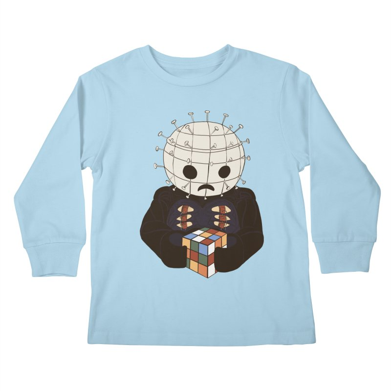 The Real 80's Horror Kids Longsleeve T-Shirt by lopesco's Artist Shop
