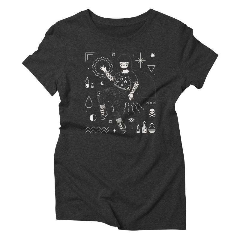 Hocus Pocus Women's Triblend T-shirt by LordofMasks