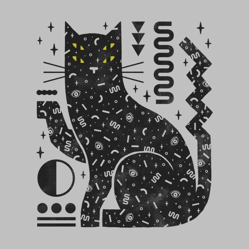 Magic Cat Men's T-Shirt by LordofMasks