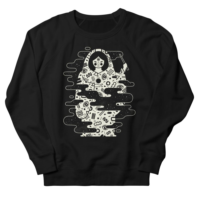 The Magician: Black Magic Women's French Terry Sweatshirt by LordofMasks
