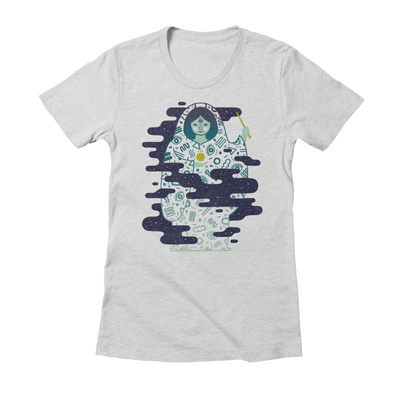 The Magician: Enchantment Women's Fitted T-Shirt by LordofMasks