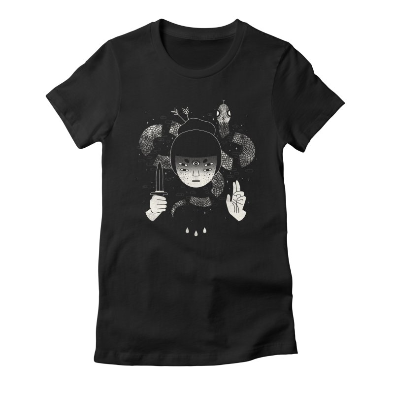 Sacrifice Women's Fitted T-Shirt by LordofMasks