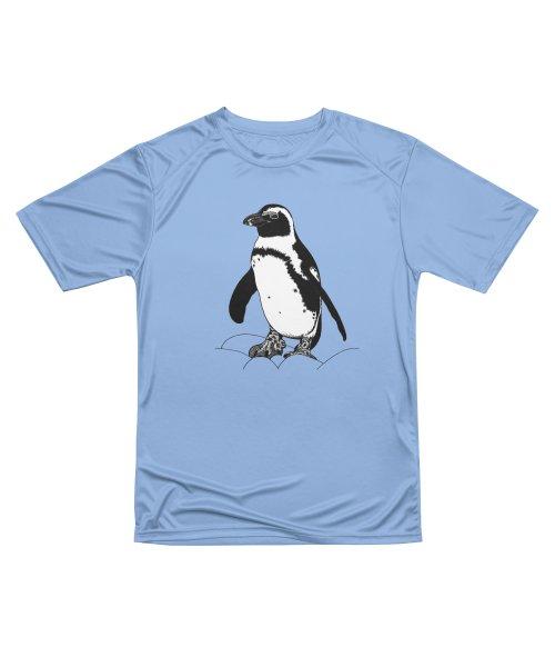 African penguin - ink illustration