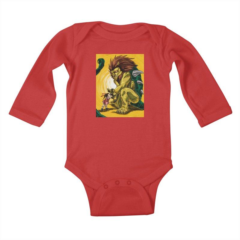 Unlikely Bonds Kids Baby Longsleeve Bodysuit by lorenzobonilla's Artist Shop