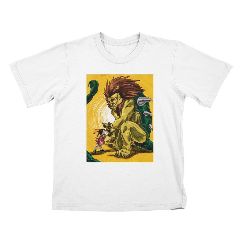 Unlikely Bonds Kids T-Shirt by lorenzobonilla's Artist Shop