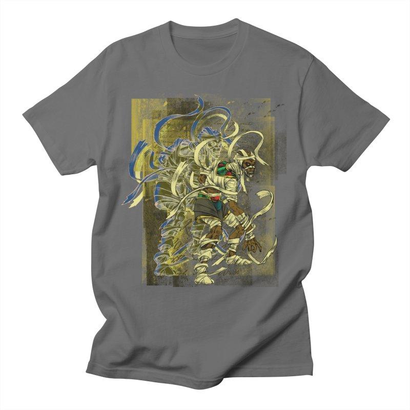 Mummy Stone Craft Men's T-Shirt by lorenzobonilla's Artist Shop