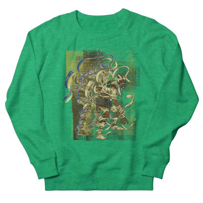 Mummy Stone Craft Women's Sweatshirt by lorenzobonilla's Artist Shop