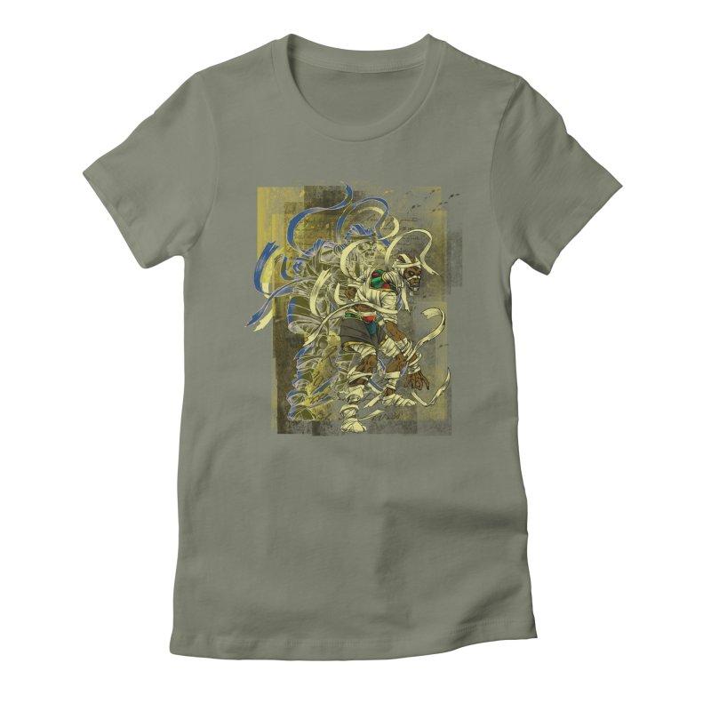 Mummy Stone Craft Women's T-Shirt by lorenzobonilla's Artist Shop