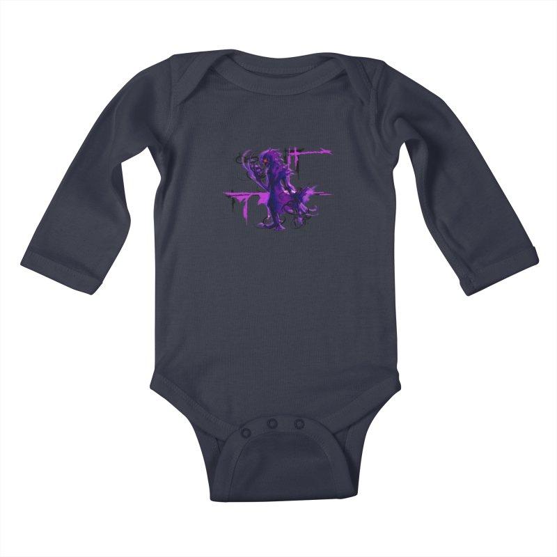 ElPetizo Spirit Form Kids Baby Longsleeve Bodysuit by lorenzobonilla's Artist Shop