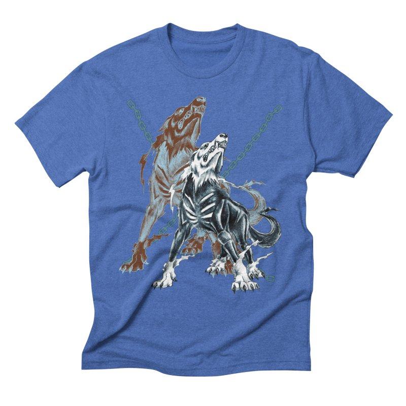 Volcarac-Unchained Predator Men's T-Shirt by lorenzobonilla's Artist Shop