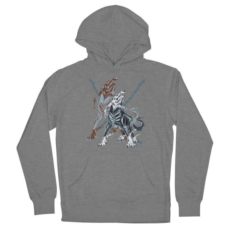 Volcarac-Unchained Predator Women's Pullover Hoody by lorenzobonilla's Artist Shop
