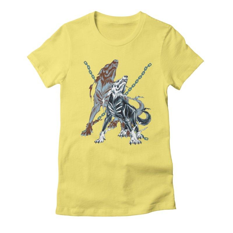 Volcarac-Unchained Predator Women's T-Shirt by lorenzobonilla's Artist Shop