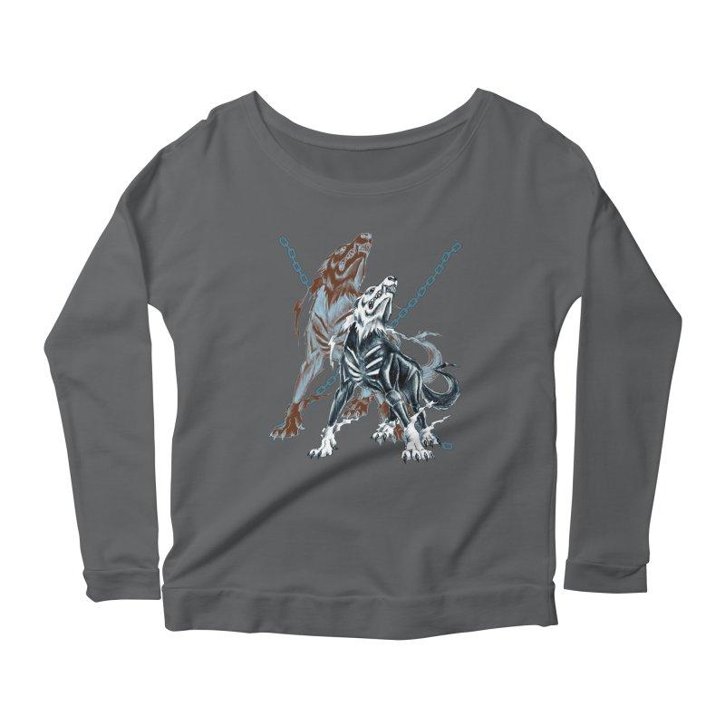 Volcarac-Unchained Predator Women's Longsleeve T-Shirt by lorenzobonilla's Artist Shop