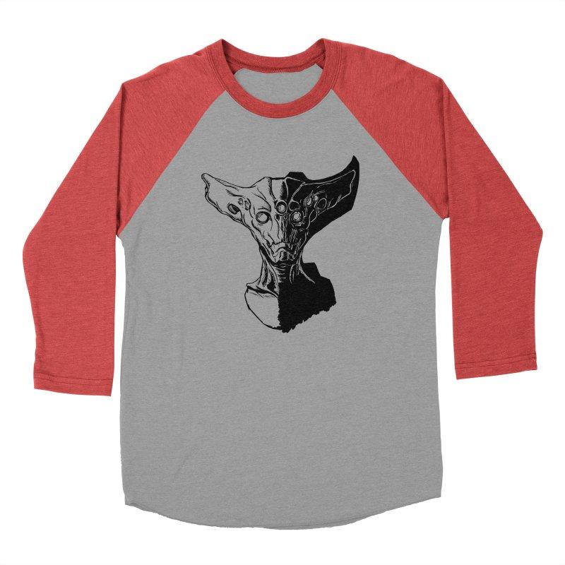Alien Profile Men's Longsleeve T-Shirt by lorenzobonilla's Artist Shop