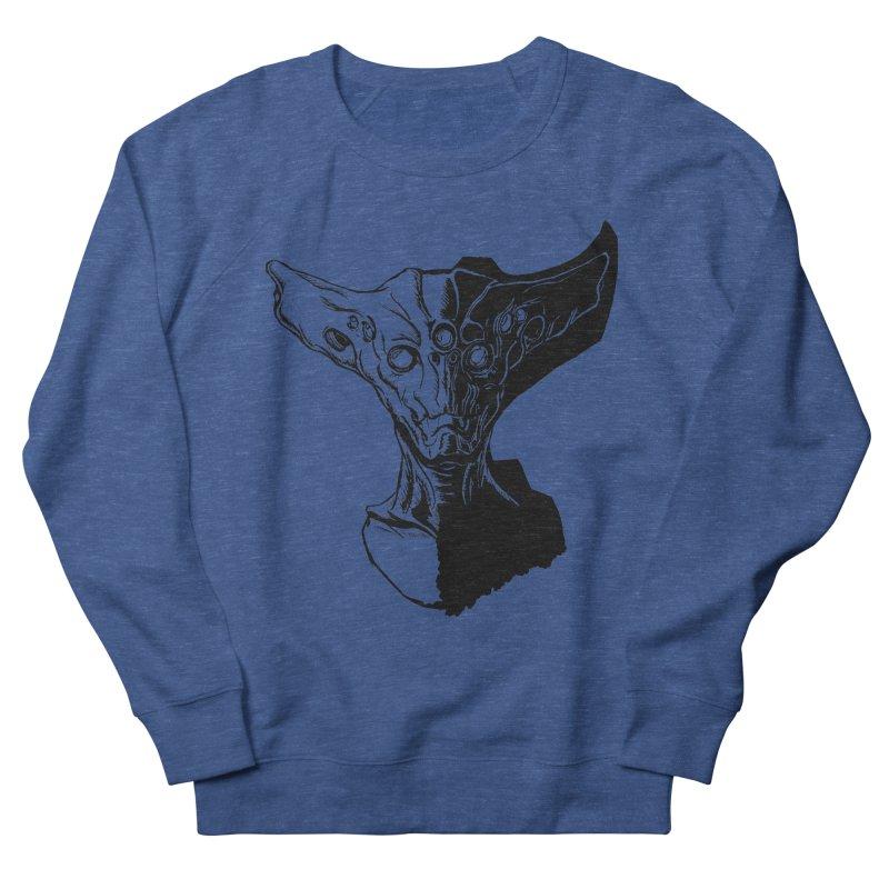 Alien Profile Men's Sweatshirt by lorenzobonilla's Artist Shop