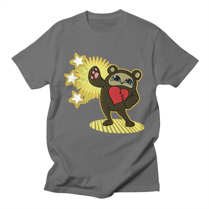 Stitch Bear Men's T-Shirt by lorenzobonilla's Artist Shop
