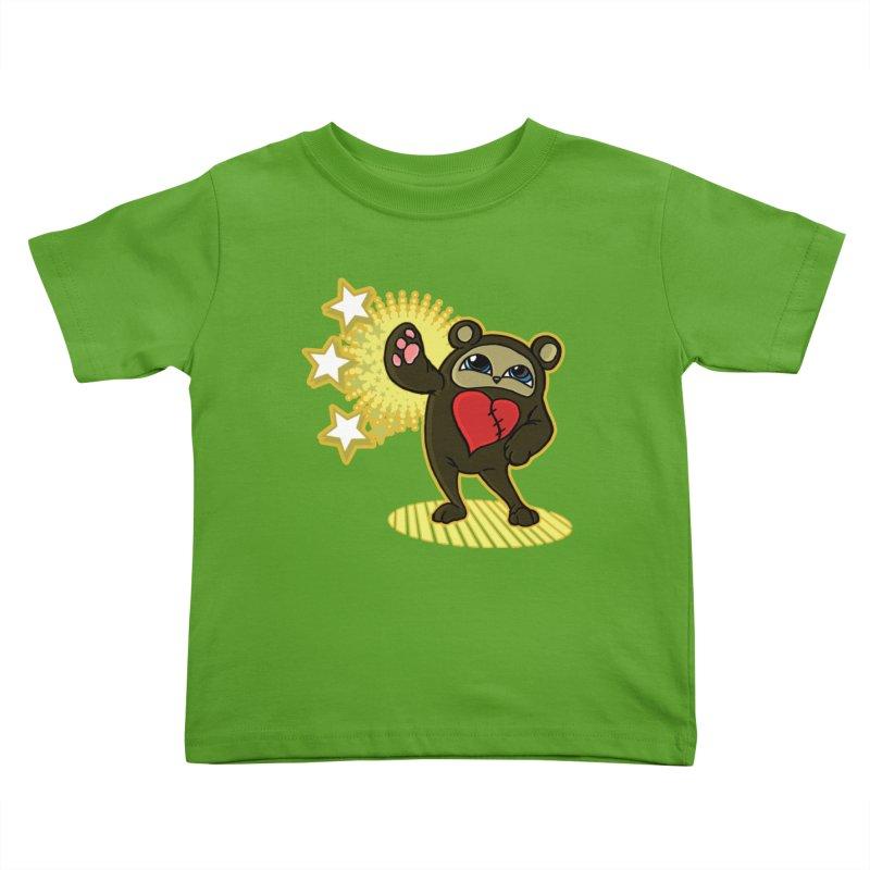 Stitch Bear Kids Toddler T-Shirt by lorenzobonilla's Artist Shop