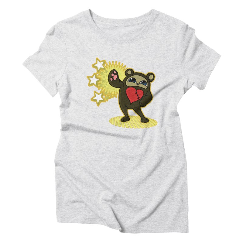 Stitch Bear Women's T-Shirt by lorenzobonilla's Artist Shop