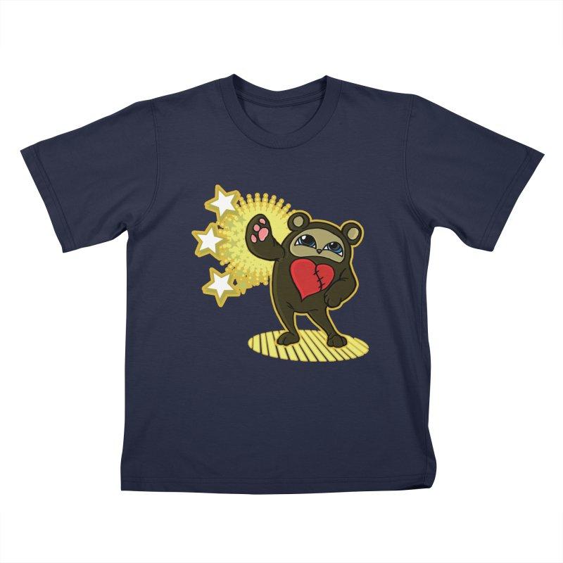 Stitch Bear Kids T-Shirt by lorenzobonilla's Artist Shop