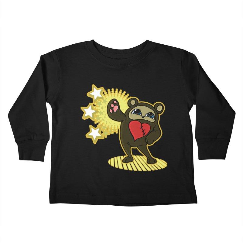 Stitch Bear Kids Toddler Longsleeve T-Shirt by lorenzobonilla's Artist Shop