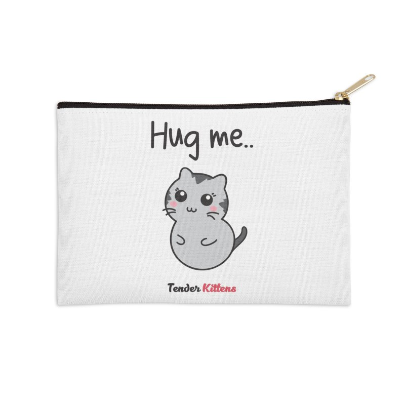 Hug me.. in Zip Pouch by Loriel Design Shop