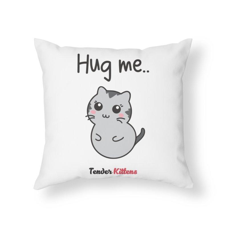Hug me.. in Throw Pillow by Loriel Design Shop