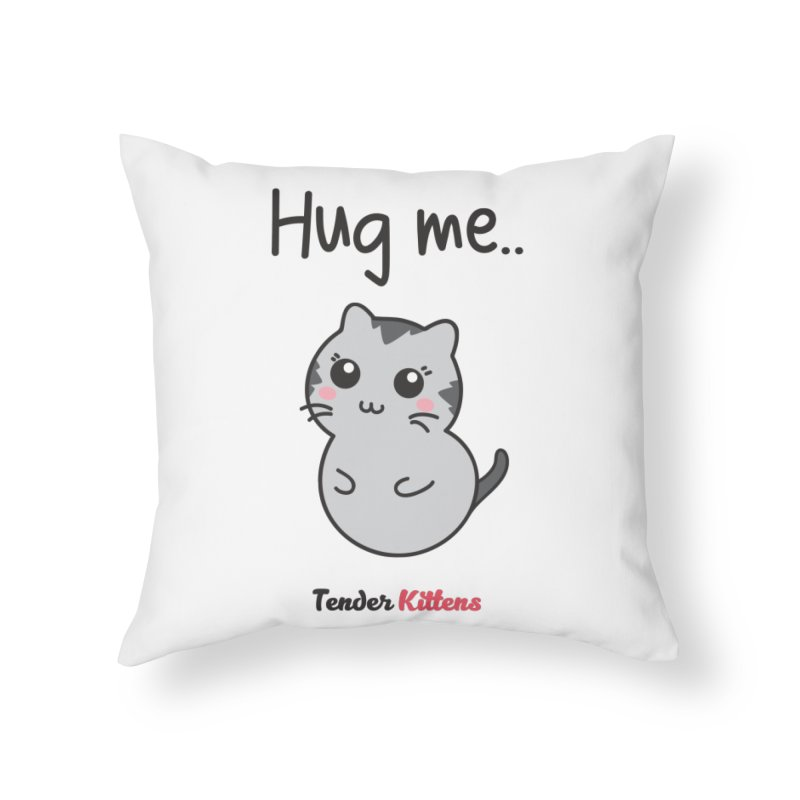 Hug me.. in Throw Pillow by Loriel Design Shop