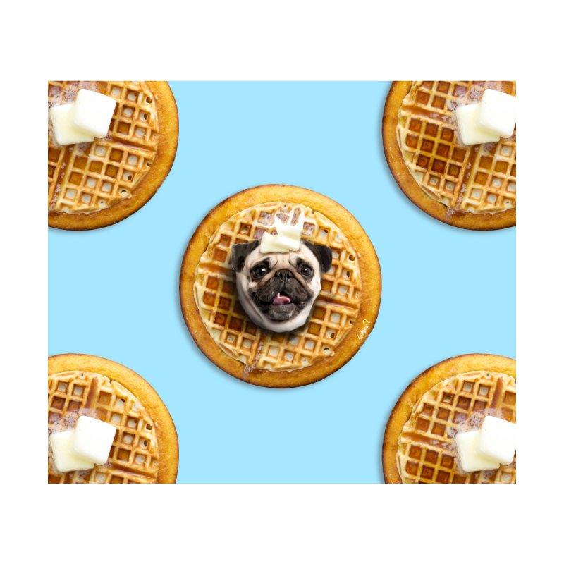 Pug Waffles by lostanaw's Artist Shop