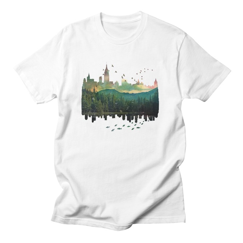 Caught in the middle Men's T-Shirt by Lost in Space