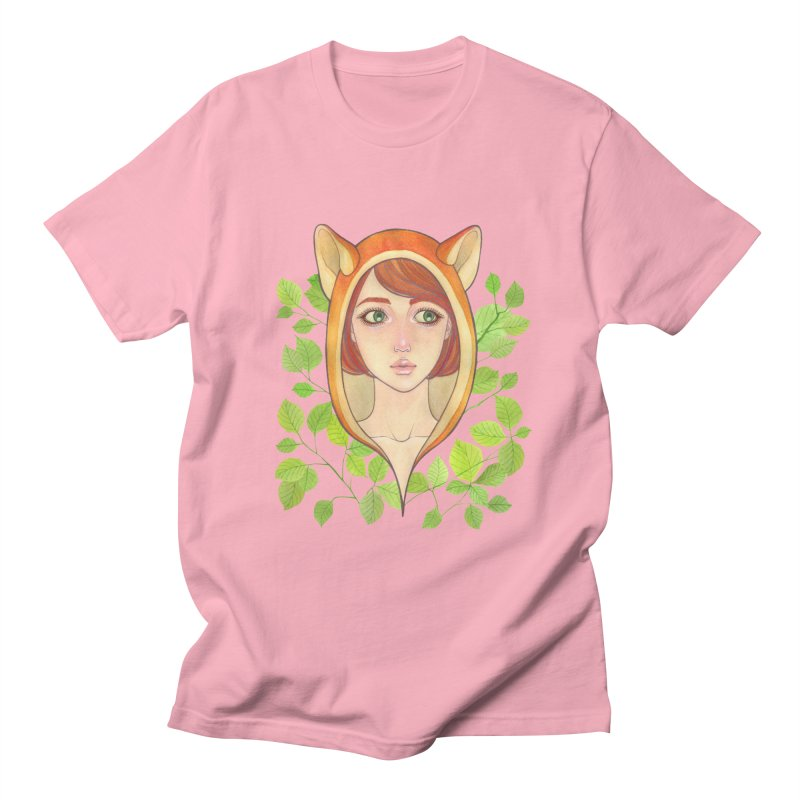 Foxy Girl Men's T-shirt by Lost in Space