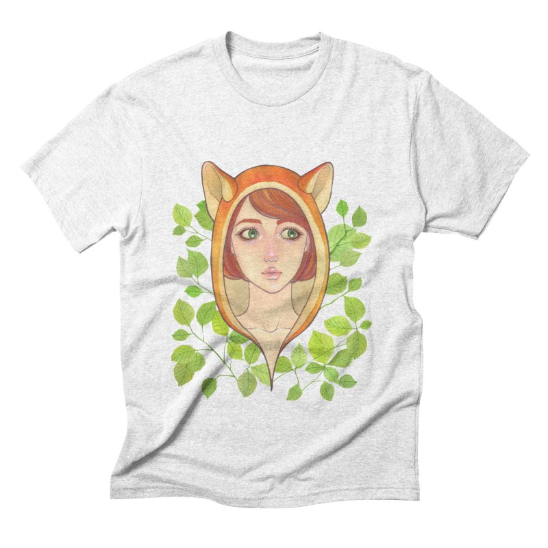 Foxy Girl Men's Triblend T-shirt by Lost in Space