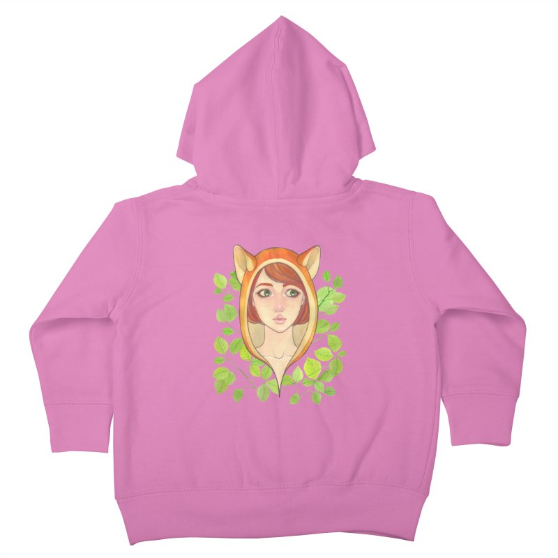 Foxy Girl Kids Toddler Zip-Up Hoody by Lost in Space