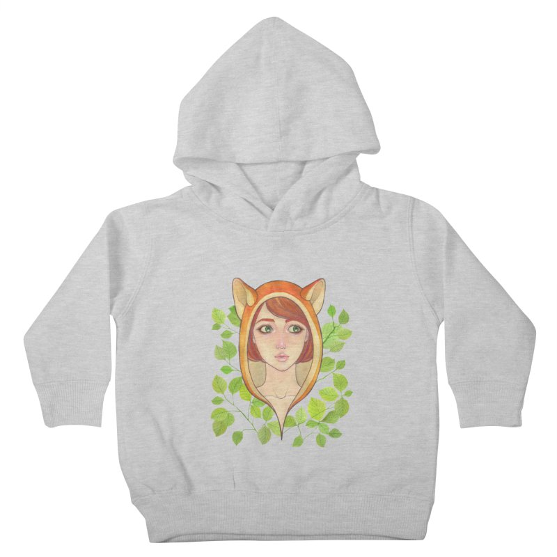 Foxy Girl Kids Toddler Pullover Hoody by Lost in Space
