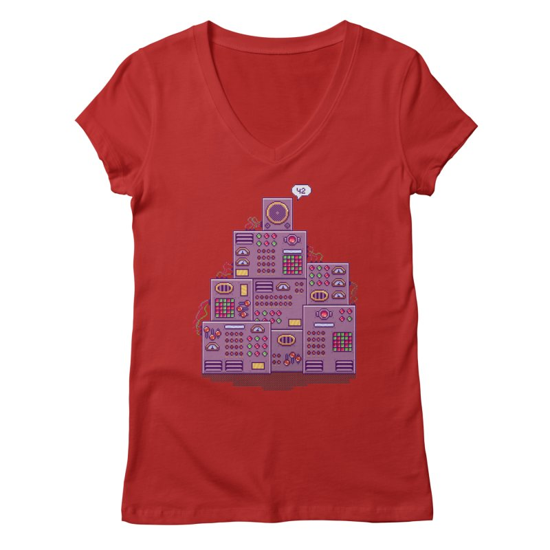 42 Women's V-Neck by Lost in Space
