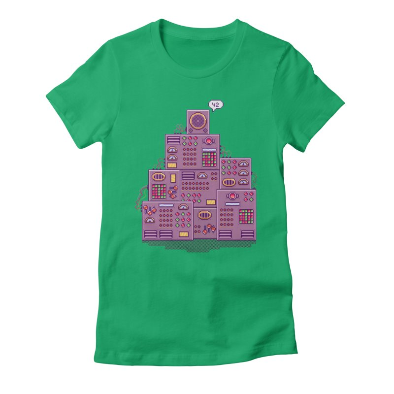 42 Women's Fitted T-Shirt by Lost in Space