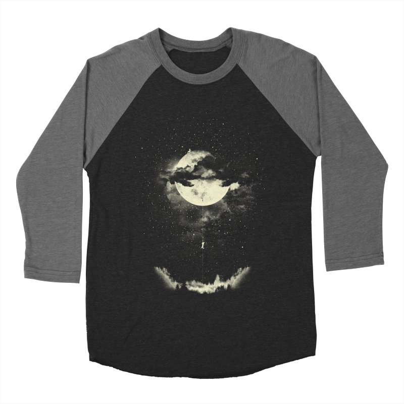 MOON CLIMBING Men's Baseball Triblend T-Shirt by lostomatos's Artist Shop
