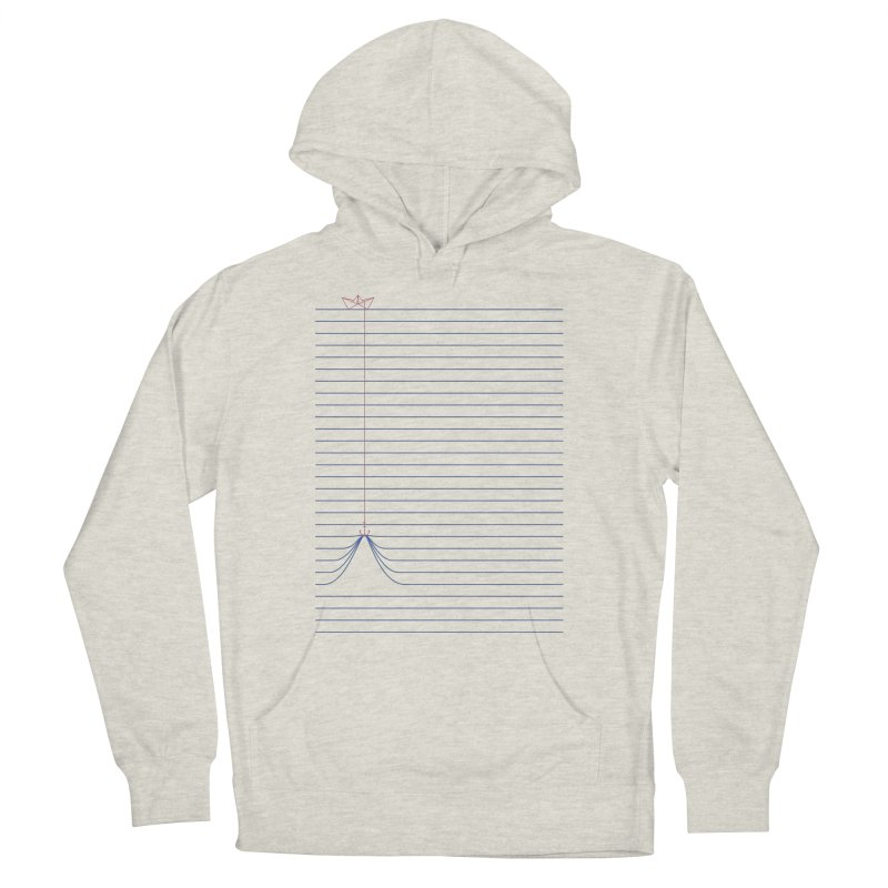 NOTE BOAT Women's Pullover Hoody by lostomatos's Artist Shop