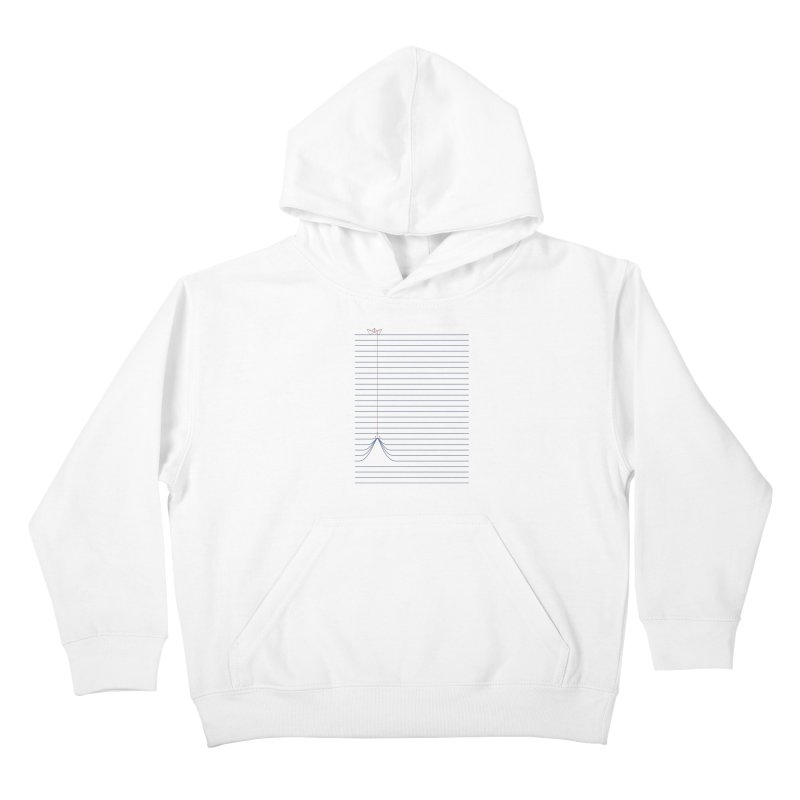 NOTE BOAT Kids Pullover Hoody by lostomatos's Artist Shop
