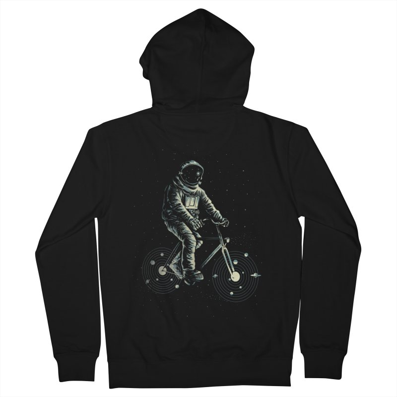 BIKESTELLAR Women's Zip-Up Hoody by lostomatos's Artist Shop