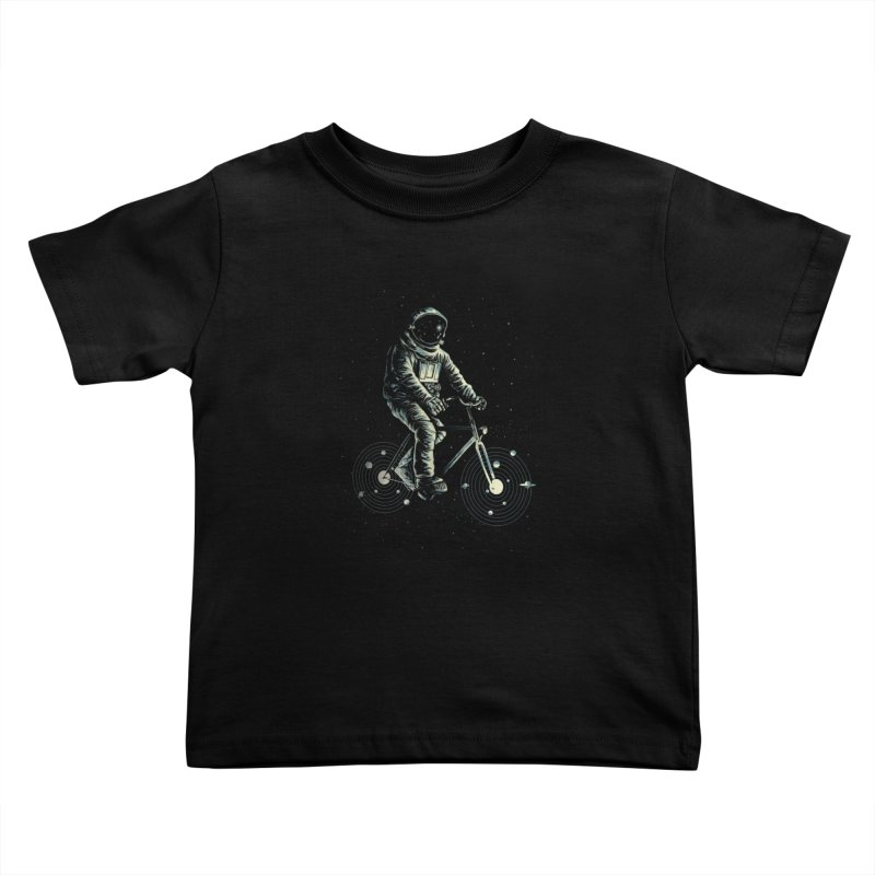 BIKESTELLAR Kids Toddler T-Shirt by lostomatos's Artist Shop