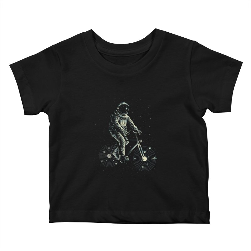 BIKESTELLAR Kids Baby T-Shirt by lostomatos's Artist Shop
