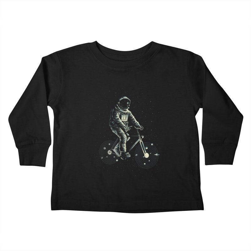 BIKESTELLAR Kids Toddler Longsleeve T-Shirt by lostomatos's Artist Shop