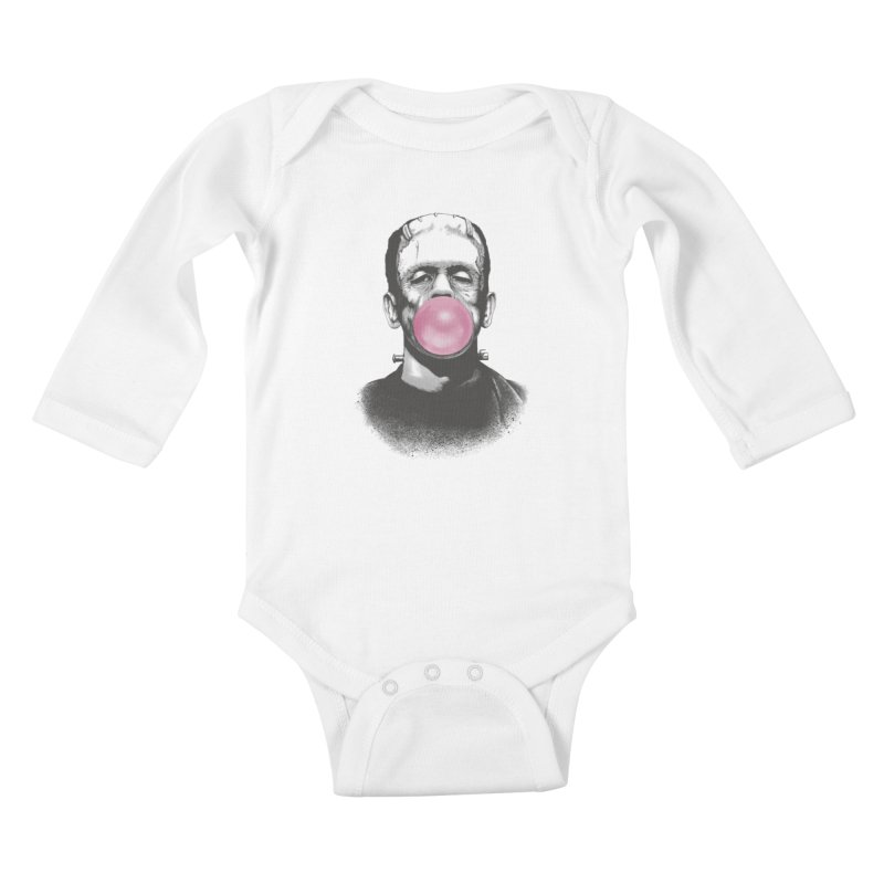 FRANKIE GOES TO HOLLYWOOD Kids Baby Longsleeve Bodysuit by lostomatos's Artist Shop
