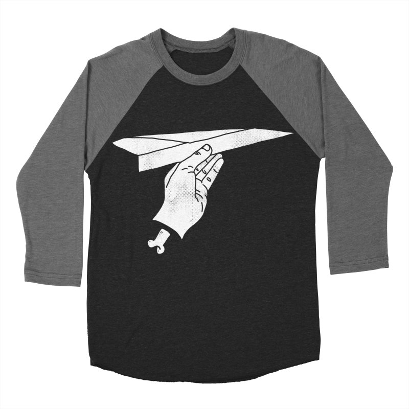 HIGHER Women's Baseball Triblend T-Shirt by lostomatos's Artist Shop