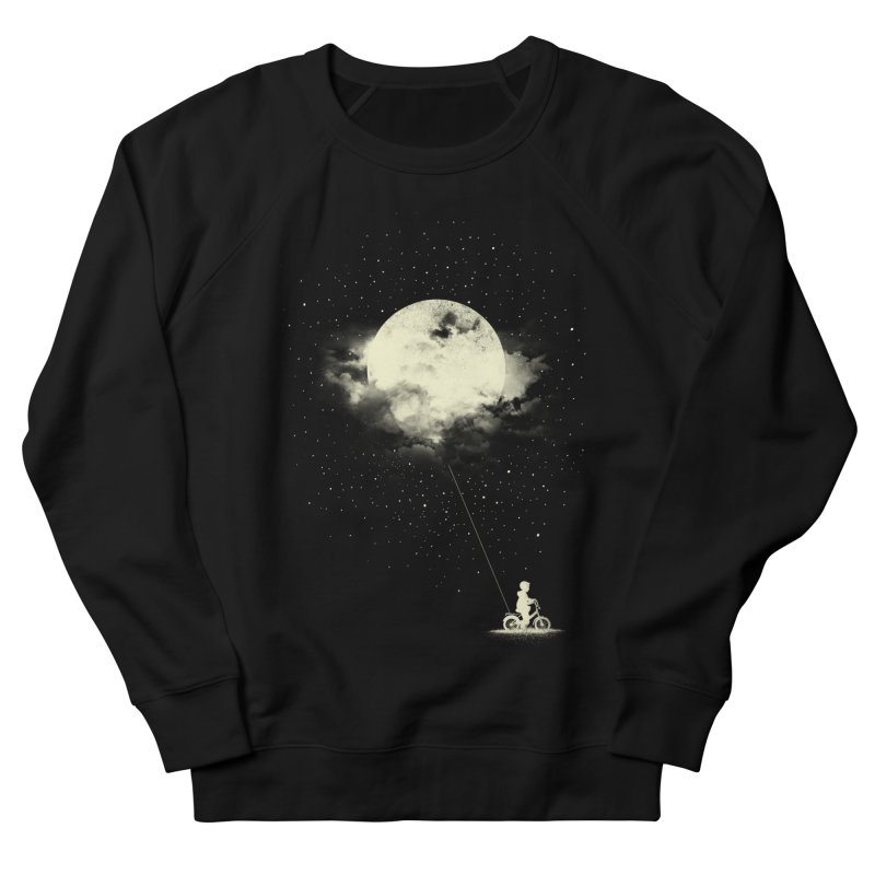 THE BOY WHO STOLE THE MOON Women's Sweatshirt by lostomatos's Artist Shop