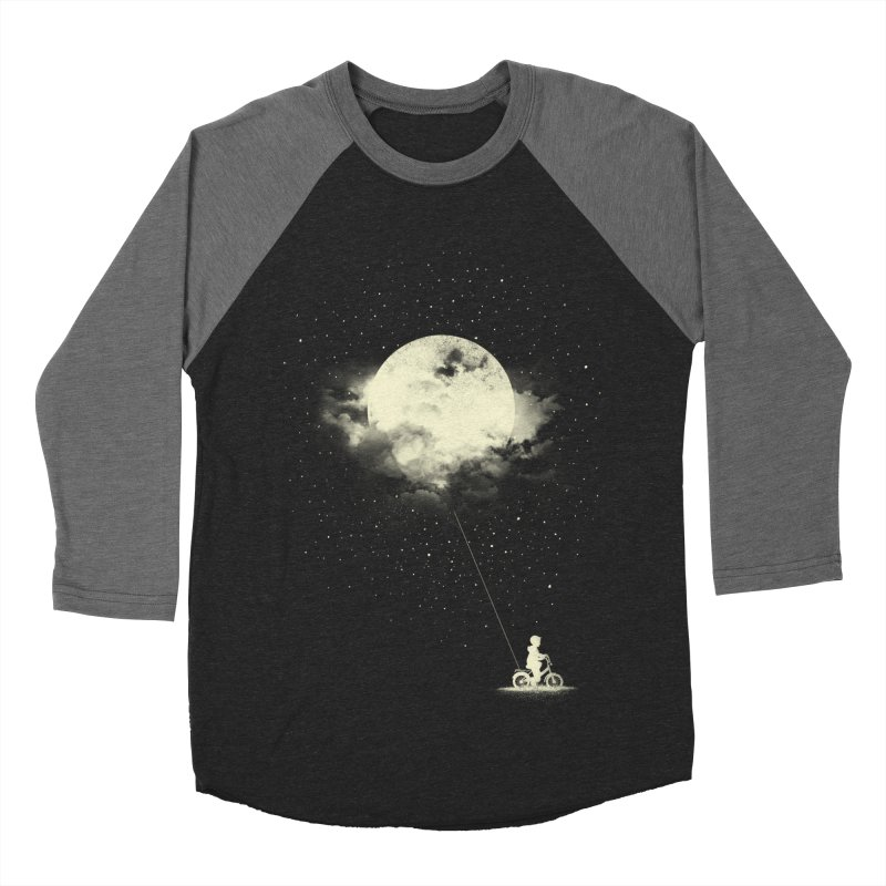 THE BOY WHO STOLE THE MOON Women's Baseball Triblend T-Shirt by lostomatos's Artist Shop