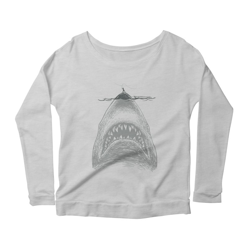 NICE TO EAT YOU Women's Longsleeve Scoopneck  by lostomatos's Artist Shop