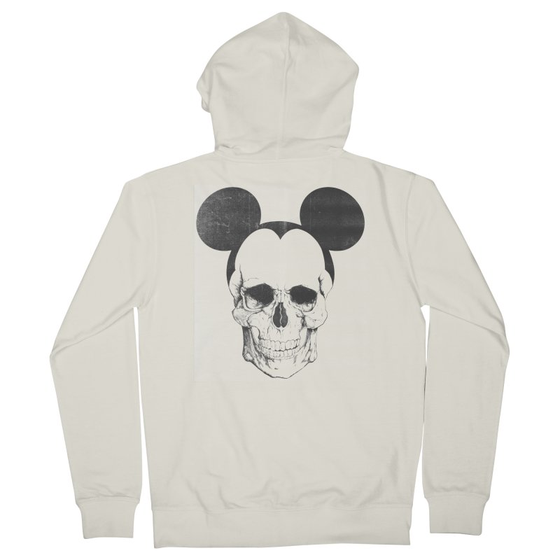 OLDSKULL FRIEND Men's Zip-Up Hoody by lostomatos's Artist Shop