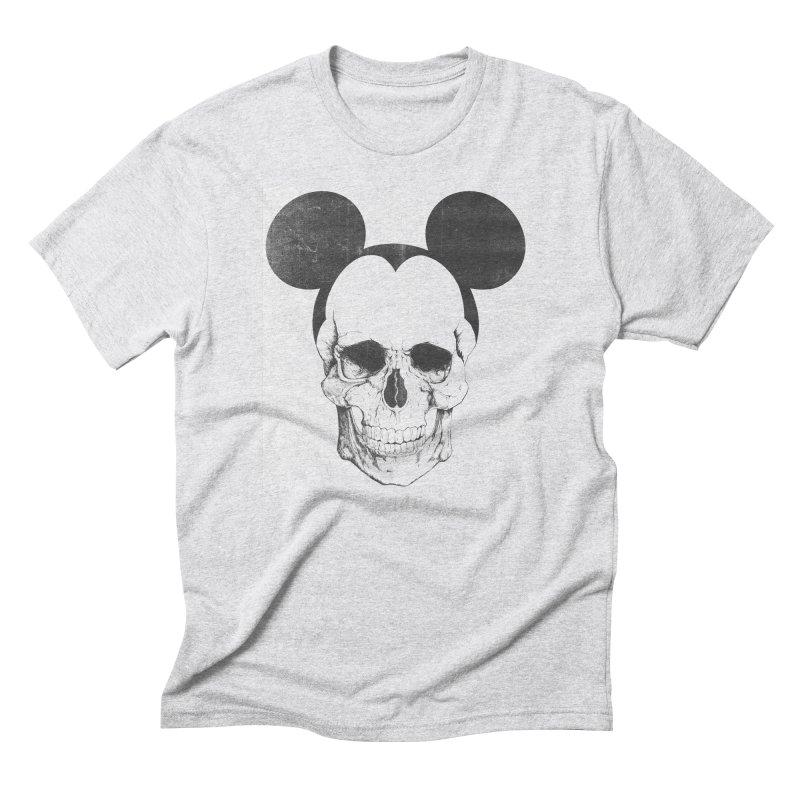 OLDSKULL FRIEND Men's Triblend T-Shirt by lostomatos's Artist Shop